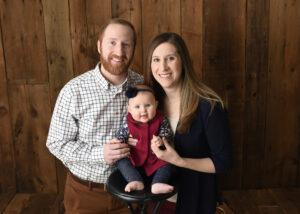 Dr. Burgett's family