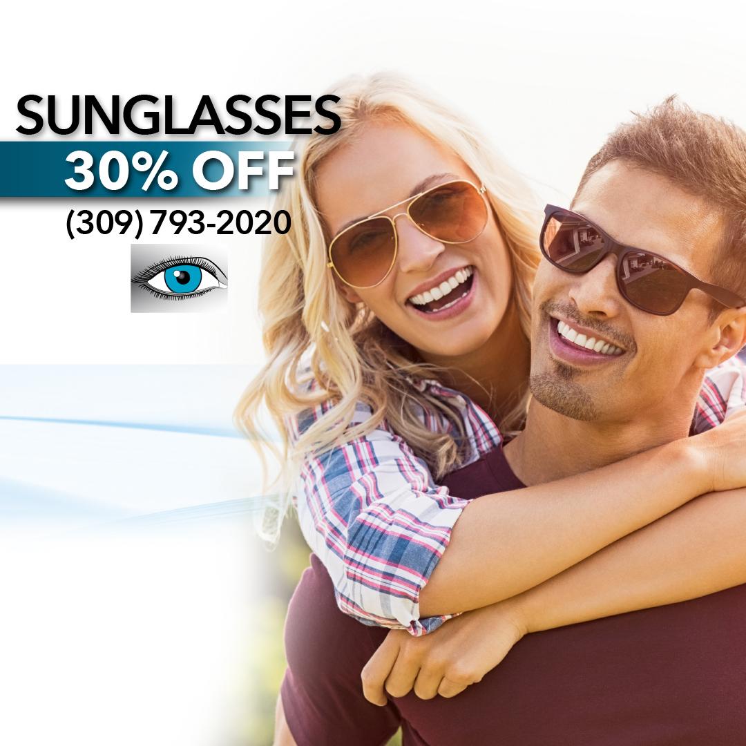 30% off sunglasses sale