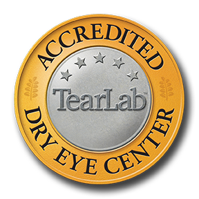 Accredited Dry Eye Center Seal